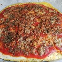 Pizza de Atún con base de brócoli 🥦 y zanahoria 🥕¡Espectacular!
