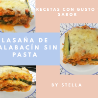 Lasaña de Pavo y Pollo de Calabacín sin pasta