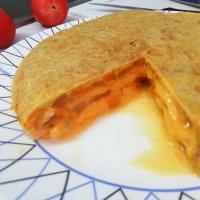 Tortilla Sándwich de Batata. Exprés, sana y riquísima!!