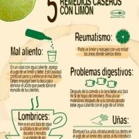 5 Remedios Caseros con Limón