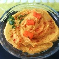 Hummus con Zanahoria y Calabaza con Tahini Casero